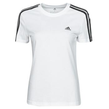 Textil Ženy Trička s krátkým rukávem adidas Performance W 3S T Bílá