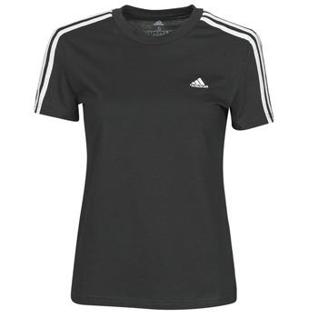 Textil Ženy Trička s krátkým rukávem adidas Performance W 3S T Černá