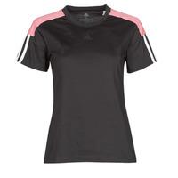 Textil Ženy Trička s krátkým rukávem adidas Performance W CB LIN T Černá