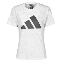 Textil Ženy Trička s krátkým rukávem adidas Performance W WIN 2.0 TEE Bílá