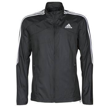 Textil Muži Teplákové bundy adidas Performance MARATHON JKT Černá