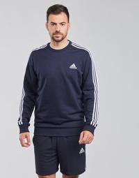 Textil Muži Mikiny adidas Performance M 3S FT SWT Modrá
