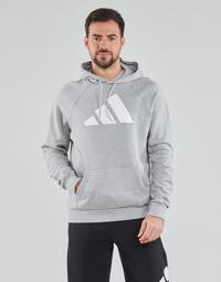 Textil Muži Mikiny adidas Performance M FI Hood Šedá