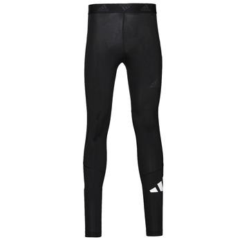 Textil Muži Legíny adidas Performance TF 3 BAR LT Černá