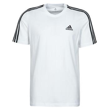 Textil Muži Trička s krátkým rukávem adidas Performance M 3S SJ T Bílá