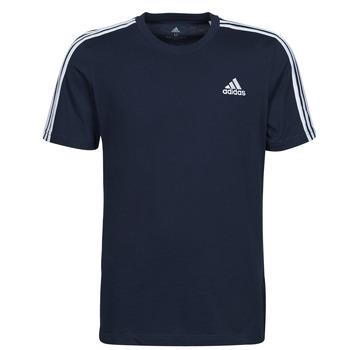 Textil Muži Trička s krátkým rukávem adidas Performance M 3S SJ T Modrá