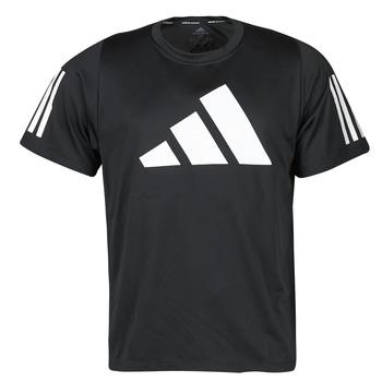 Textil Muži Trička s krátkým rukávem adidas Performance FL 3 BAR TEE Černá