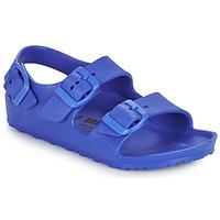 Boty Chlapecké Sandály Birkenstock MILANO EVA Modrá