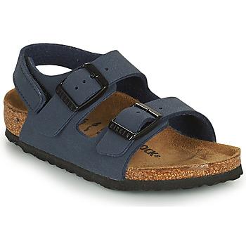 Boty Chlapecké Sandály Birkenstock MILANO HL Modrá