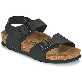 Boty Chlapecké Sandály Birkenstock NEW YORK Černá