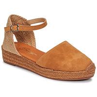 Boty Ženy Sandály Betty London ANTALA Zlatohnědá