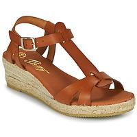 Boty Ženy Sandály Betty London OBORSEL Zlatohnědá