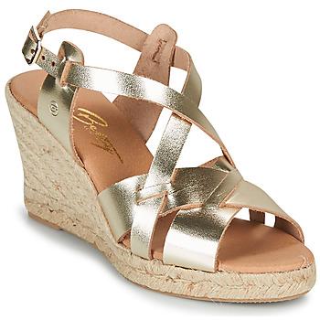 Boty Ženy Sandály Betty London OSAVER Zlatá