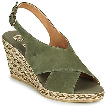 Boty Ženy Sandály Betty London OHINDRA Khaki