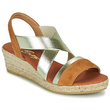Boty Ženy Sandály Betty London OLINDRE Zlatohnědá