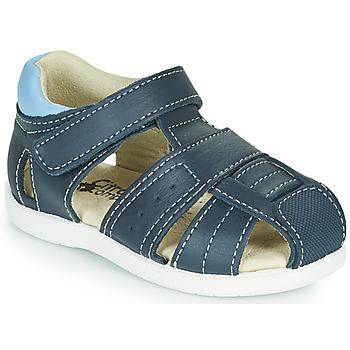Boty Chlapecké Sandály Citrouille et Compagnie OLISS Modrá