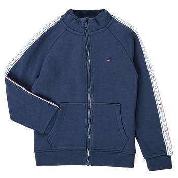Textil Chlapecké Mikiny Tommy Hilfiger  Tmavě modrá