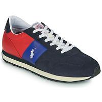 Boty Muži Nízké tenisky Polo Ralph Lauren TRAIN 85-SNEAKERS-ATHLETIC SHOE Tmavě modrá / Červená