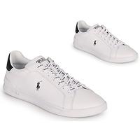 Boty Nízké tenisky Polo Ralph Lauren HRT CT II-SNEAKERS-ATHLETIC SHOE Bílá / Černá
