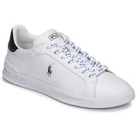 Boty Nízké tenisky Polo Ralph Lauren HRT CT II-SNEAKERS-ATHLETIC SHOE Bílá / Tmavě modrá