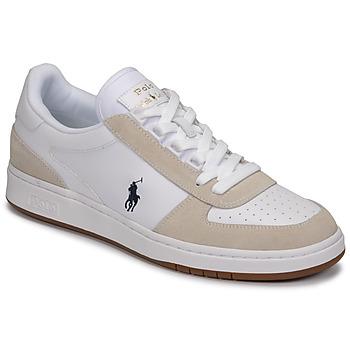 Boty Muži Nízké tenisky Polo Ralph Lauren POLO CRT PP-SNEAKERS-ATHLETIC SHOE Bílá