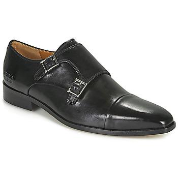 Boty Muži Šněrovací společenská obuv Melvin & Hamilton LANCE 1 Černá