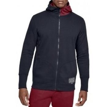 Textil Muži Mikiny Under Armour Baseline Fleece FZ Hoodie černá