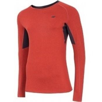 Textil Muži Mikiny 4F Mens Functional Longsleeve červená