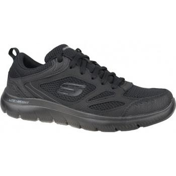 Boty Muži Multifunkční sportovní obuv Skechers Summits-South Rim černá