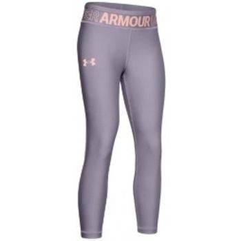 Textil Děti Kalhoty Under Armour HG Ankle Crop K fialová