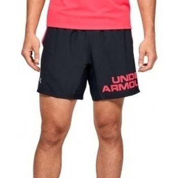 Textil Muži Kraťasy / Bermudy Under Armour Speed Stride Graphic 7 Shorts černá