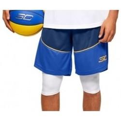 Textil Muži Kraťasy / Bermudy Under Armour SC30 10 Shorts modrá
