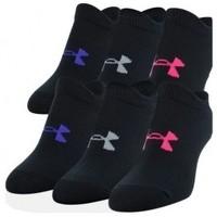 Doplňky  Děti Ponožky Under Armour Kids Essential NS Socks 6PK černá