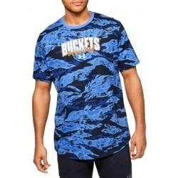 Textil Muži Trička s krátkým rukávem Under Armour Baseline Verbiage Tee modrá