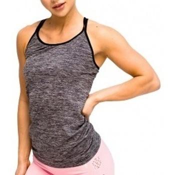 Textil Ženy Tílka / Trička bez rukávů  Gymhero L.A Classic Basic Tee šedá