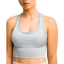 Textil Ženy Sportovní podprsenky Gymhero Stripes Bra šedá