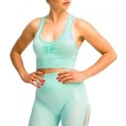 Textil Ženy Sportovní podprsenky Gymhero California Cute Bra zelená