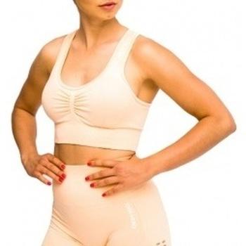 Textil Ženy Sportovní podprsenky Gymhero California Cute Bra oranžová