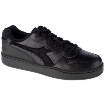 Boty Muži Multifunkční sportovní obuv Diadora Mi Basket Low černá