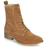 Boty Ženy Kotníkové boty Betty London ORYPE Zlatohnědá