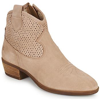 Boty Ženy Kotníkové boty Betty London OGEMMA Béžová