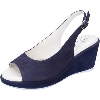 Boty Ženy Sandály Adriana Del Nista Sandály BJ06 Modrý