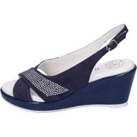 Boty Ženy Sandály Adriana Del Nista Sandály BJ08 Modrý