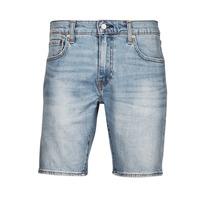 Textil Muži Kraťasy / Bermudy Levi's 411 Slim Short Modrá