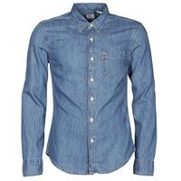 Textil Muži Košile s dlouhymi rukávy Levi's SUNSET 1 PKT SLIM Modrá