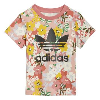 Textil Dívčí Trička s krátkým rukávem adidas Originals GN2262