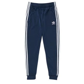 Textil Děti Teplákové kalhoty adidas Originals GN8454 Modrá
