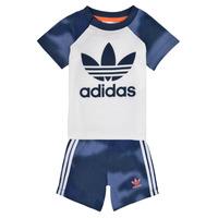 Textil Chlapecké Set adidas Originals GN4110 Bílá
