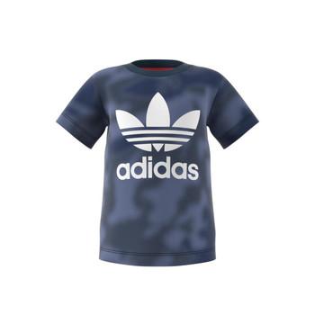 Textil Chlapecké Trička s krátkým rukávem adidas Originals GN4116 Modrá