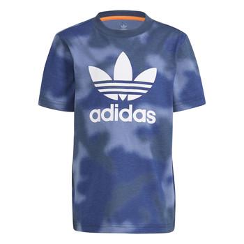 Textil Chlapecké Trička s krátkým rukávem adidas Originals GN4119 Modrá